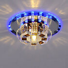 Modern Crystal Pendant Light Ceiling Lamp Chandelier LivingDining Room Lighting