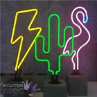 Locomocean Neon Light Lamp Desk Top Sign Office Home Retro Bar LED Decoration
