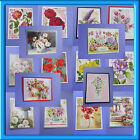 1 X HAND MADE HUNKY DORY FLORAL CARD TOPPER(AUGUST 2017) JEMINI'S CRAFT'S
