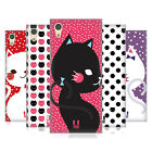HEAD CASE DESIGNS CATS AND DOTS HARD BACK CASE FOR SONY XPERIA XA1 / DUAL