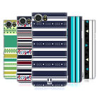 HEAD CASE DESIGNS PRINTED STRIPES HARD BACK CASE FOR BLACKBERRY KEYONE / MERCURY
