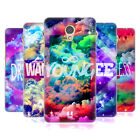 HEAD CASE DESIGNS CHROMATIC CLOUDS HARD BACK CASE FOR LENOVO P2
