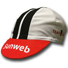 GIANT SUNWEB 2017 PRO CYCLING TEAM BIKE CAP - Fixed Gear - Made in Italy