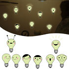 Hanging Light Bulb Wall Stickers Removable Dining Room Background Wall PVC Decal