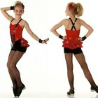 Cupid Shuffle Dance Costume & Hand Mitts Large Groups Child XS S 6X7 Adult 2XL