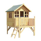 Billyoh Bunny Max Tower Children Wooden Playhouse Outdoor Garden Playground 4x4