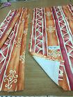 Static Caravan Curtains/pelmets/tiebacks Build your own set Terracotta print