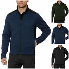 NWT Gerry Men's Mixed Media Knit on the Go Full Zip Jacket FREE SHIPPING H21