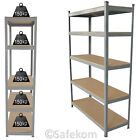 Metal Shelving Unit Boltless Racking Shelves Heavy Duty Garage Shelf Bay 5 Tier