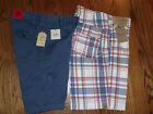 Roundtree & Yorke OR Tre vero NWT 32 Casual Relaxed Fit Shorts Men Blue Coral