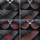 Universal 3D Car Seat Cover PU Leather Breathable Pad Mat for Auto Chair Cushion