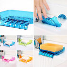 Shower Soap Box Holder Case Container Dish Storage Plate Tray  Bathroom Decor #r