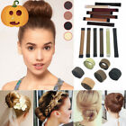 Women Hair Styling Tie Twist Tool Donut Former Foam French Twist Tool Bun Ties