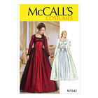 McCall's 7642 Sewing Pattern to MAKE Cosplay Over Dress & Skirt w/ Boned Bodice