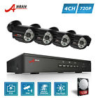 HD 720P 4/8CH POE IP CCTV Camera Home Security System Network Outdoor NVR DVR