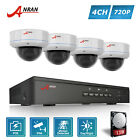 ANRAN HD 720P 4CH POE Home Security System IP CCTV Camera Outdoor 1TB HDD NVR