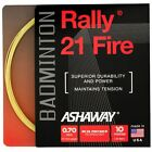 Ashaway Rally 21 Multifilament Fire Badminton 21 Micro Gauge String Set