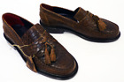 NEW MENS RETRO MOD DELICIOUS JUNCTION SNAKE PRINT RUDE BOY IN BROWN
