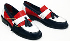 NEW MENS RETRO MOD DELICIOUS JUNCTION RUDE BOY IN RED/WHITE/BLUE