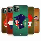 HEAD CASE DESIGNS COUNTRY FLAG MAPS HARD BACK CASE FOR APPLE iPHONE PHONES