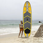 10ft SPK3 Inflatable Stand Up Paddle Board w Paddle and Leash,Pump,Bag,USA