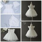 Infant Baby Pageant Flower Girls Formal Party Wedding Bridesmaid Dress Headband