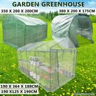 Walk In Garden Greenhouse Green Hot Plant House Shed PVC Cover Apex Roof