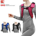 Sporteq Womens 6kg Weighted Vest Weight Loss Home Gym Strength Training Jacket
