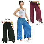 Pants PFJ Thailand Rayon Crochet Harem Boho Gypsy Casual Hippie Women Trousers