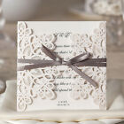 Laser Cut Wedding Invitation Cards Card Cover Bundle Baby Shower Birthday Party
