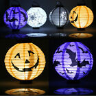 New Lantern Halloween LED Paper Pumpkin Hanging DIY Props Home Party Decor Scary