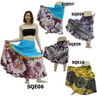 Skirt SQE06 Thai Cotton Tie-Dye Boho Gypsy Hippie Batik Long Broomstick Peasant