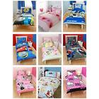 Childrens Disney and Character Single Duvet Cover Sets - Kids Bedding - Official