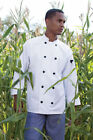 Uncommon Threads Moroccan Chef Jacket, White, Red, Burgundy, XS to 6XL, 0405