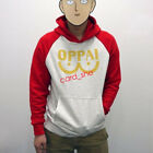 One Punch man Saitama Oppai hoodie Hooded Sweater S/M/L/XL SIZE Cosplay Costume