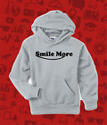 Smile More Roman Atwood Gamer Youtube Hoodie Personalised Sweat Childs All Sizes