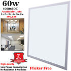 60W 5500LM Ceiling Suspended Recessed Cool White LED Panel Light Ultra Bright