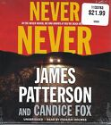 Never Never by James Patterson and Candice Fox (2017, CD, Unabridged)