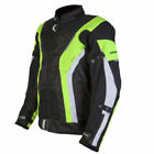 SPADA CURVE WATERPROOF MOTORCYCLE SPORTS STYLE JACKET BLACK FLUO