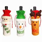 Hot Cute Christmas Wine Bottle Cover Bag Xmas Dinner Table Party Decor