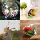 Hot Plastic Christmas Ball Candy Hanging Baubles Xmas Tree Decoration Ornament