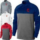 Nike Cleveland Indians MLB Therma-Fit Fleece 1/2 Zip - Multiple Color on Ebay
