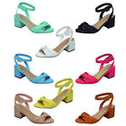 Breckelle's FK15 Women's Twisted Band Open Heel Buckled Dress Sandals