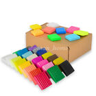 1/24/36Pcs DIY Craft Malleable Fimo Polymer Modelling Soft Clay Block Plasticine image