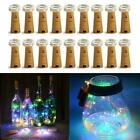 20 LED Cork Shape String Fairy Night Light Wine Bottle Lamp Battery Powered US