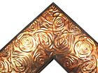 23 Aged Copper Rose Ornate Wood Canvas Frame Picture Frame Custom Panoramic