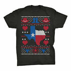 TEXAS Sweater Style-Lone Star State Christmas-T-Shirt