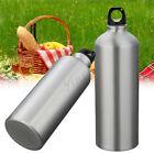 500ML/1000ML Stainless Steel Drinking Water Bottles Sports Outdoor Travel Climb