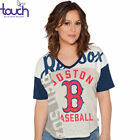 Boston Red Sox Touch By Alyssa Milano Touch Power Play T-Shirt