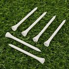 100Pcs Natural White Maple Wood Golf Tees 4 Sizes Professional Training Game